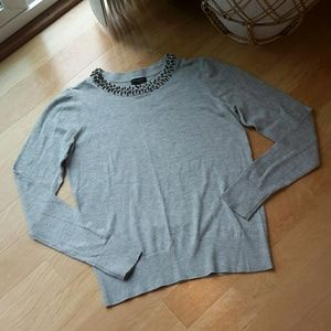 ANN TAYLOR FACTORY | Embellished Sweater